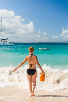Sailing around the British Virgin Islands