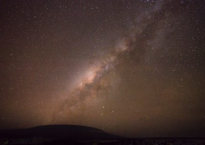 The Milkyway over the Galapagos Islands for BBC's Mission Galapagos