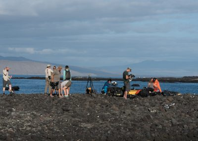 Behind the scenes of Galapagos
