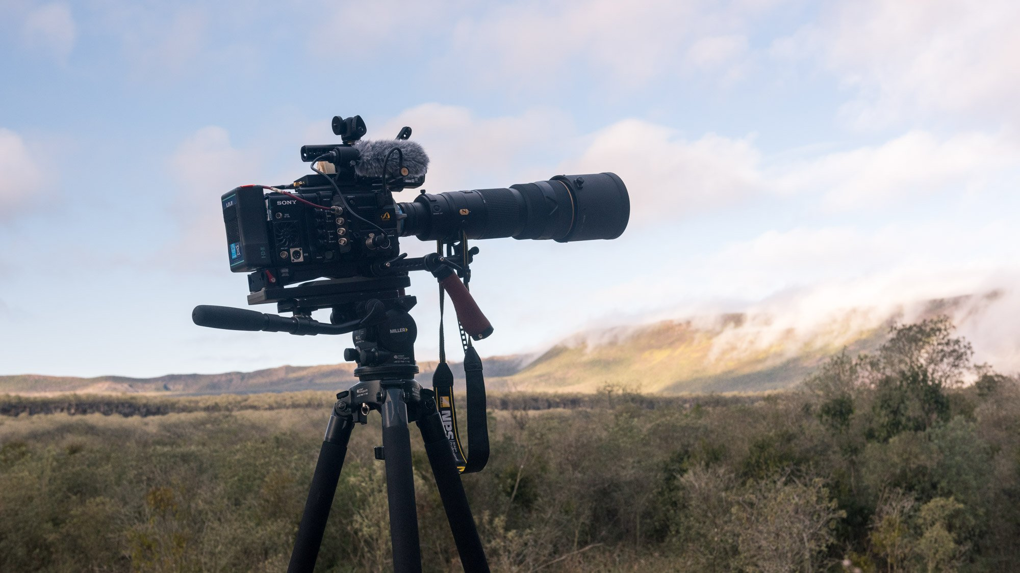 Sony F55 in the Galapagos Islands