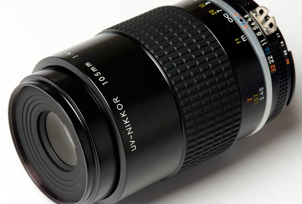 UV-Nikkor 105mm f/4.5 lens