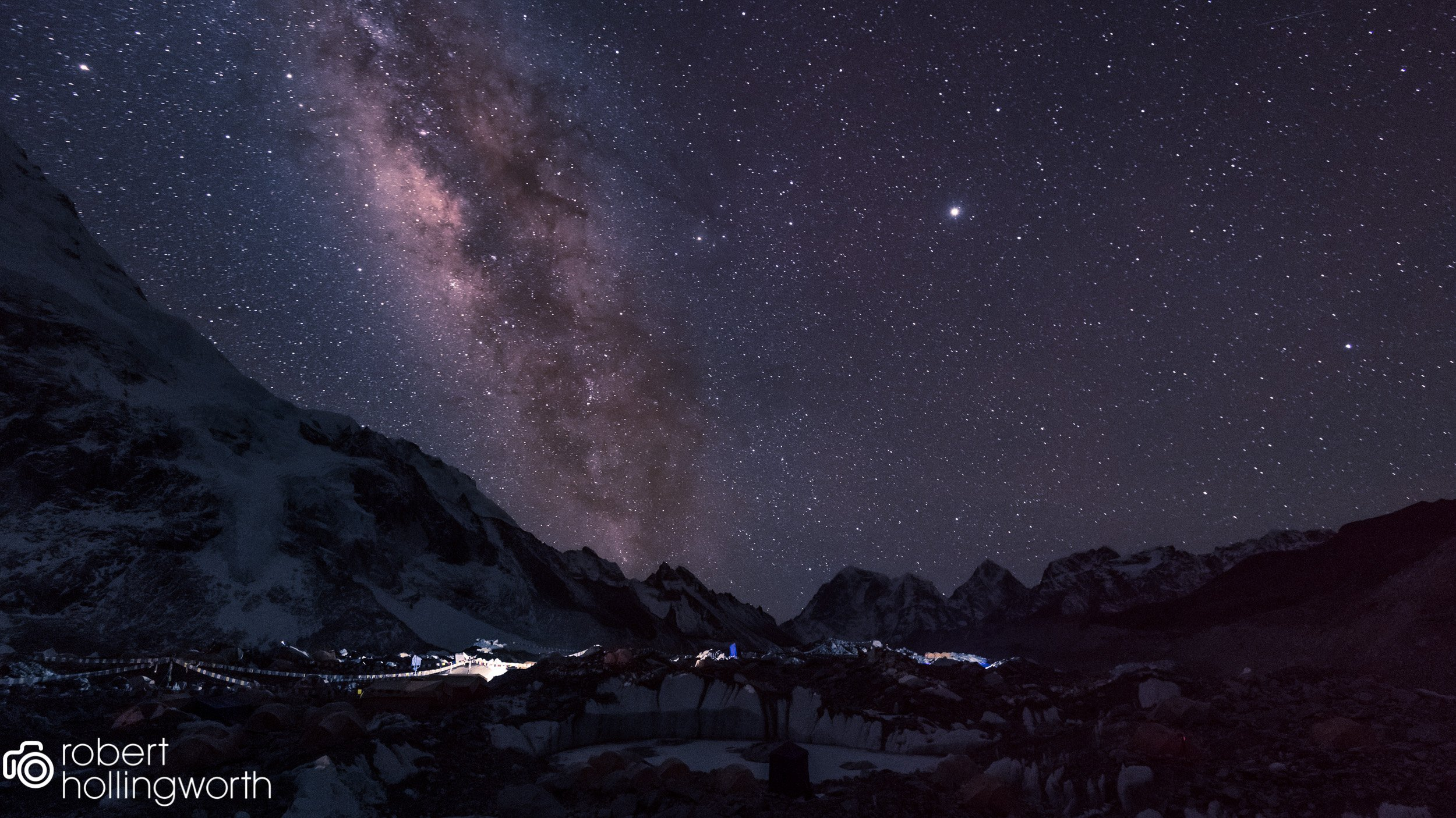 Everest Base Camp with the Milkyway